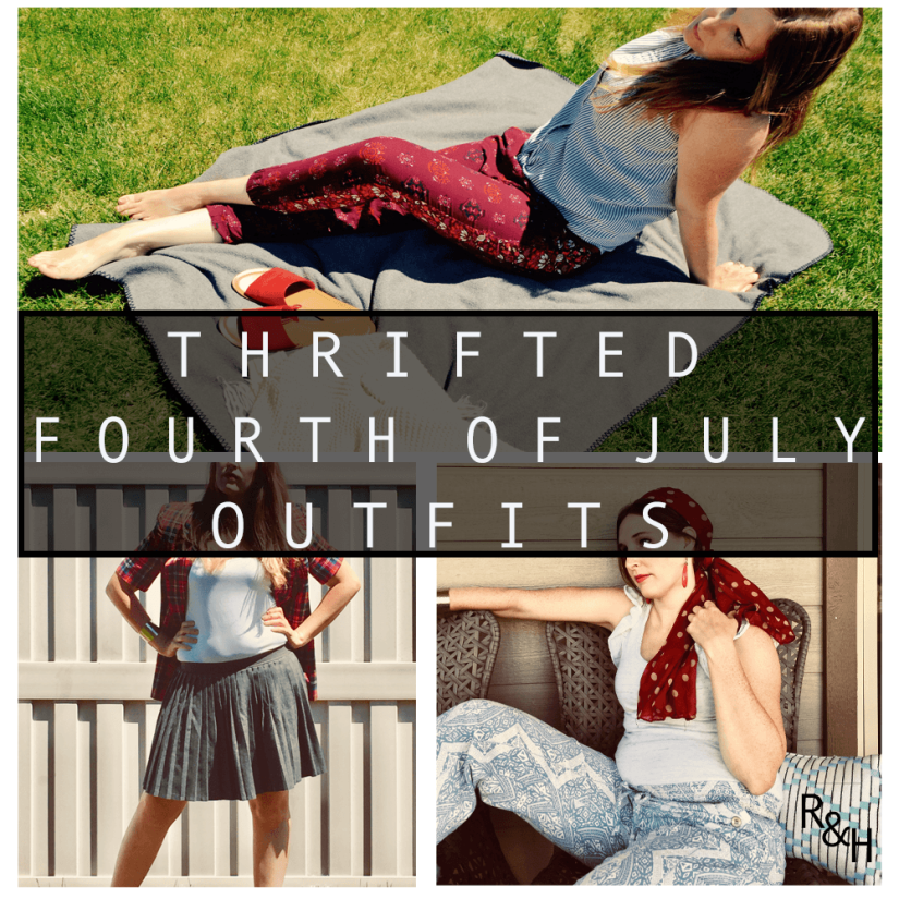 Thrifted 4th of JulyOutfits